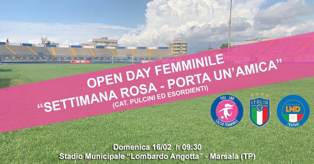 openday calcio femminile