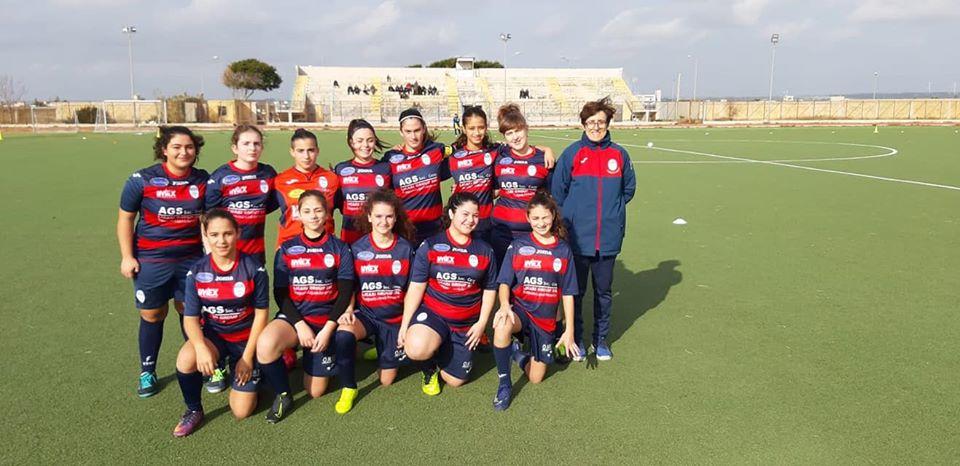 DEBUTTO CASALINGO PER IL MARSALA FEMMINILE UNDER 15
