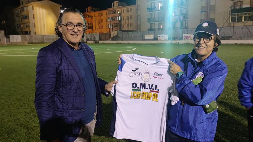 Il CF Marsala salutato dall'Amministrazione Comunale